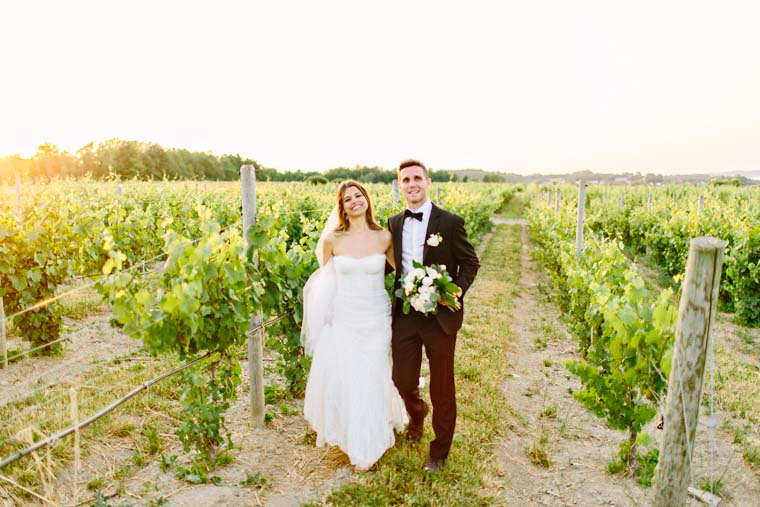 Upstate ny vineyard wedding