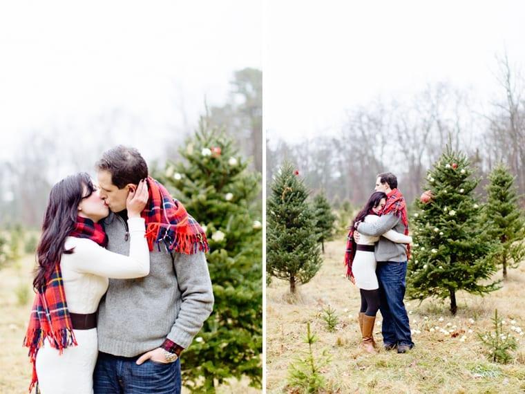 Leeann & Martin Engagement   Christmas Tree Farm   Kelly Dillon ...