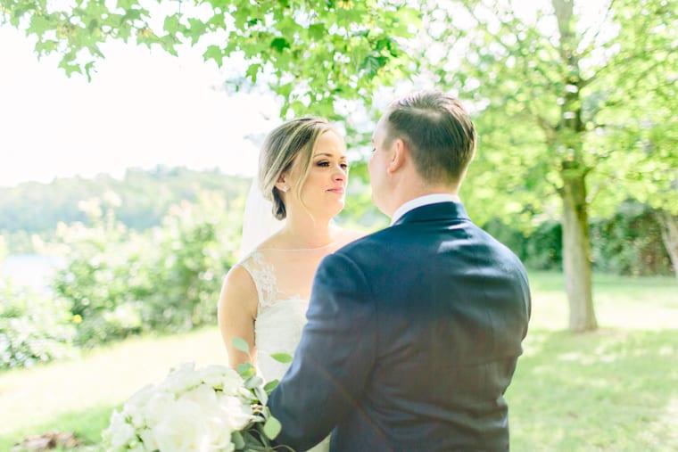 laura amp brian wedding tower hill botanical garden